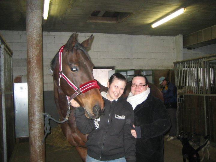 Michelle und Melly mit Vigo